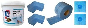 1.5 m² Waterproof Tanking Set Aqua Build Shower Liquid Foil Membrane Seal Kit2