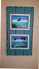 Florida Highwaymen Style Paintings In Cape Cod Cottage Frame by Rochelle McBride