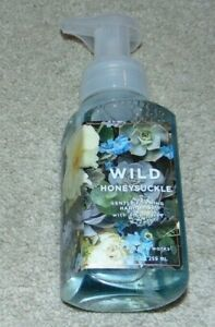 ~NEW BATH & BODY WORKS WILD HONEYSUCKLE Foam Hand Soap Nice:)*