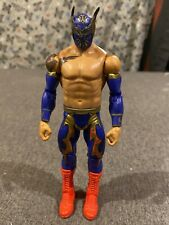 WWE WWF Sin Cara Hunico Then Now Forever wrestling figure statue figurine Mattel