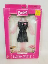 Barbie Boutique Fashion Avenue Mattel 18128-0980 NRFB Pinstripe w/ Pink Hose