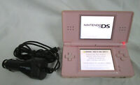 Nintendo DS Lite Handheld Video Game Console System w/ Car Charger