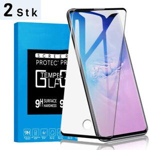 2x Samsung Galaxy S10 S10 Plus S10E Panzer Folie 3D Display Schutzfolie
