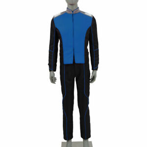 The Orville Blue Uniform of the Command Department Cosplay Costumes tailored