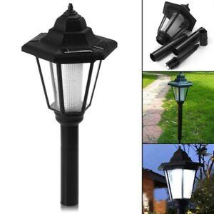 Imperméable LED Solaire Lanterne Lampe Alimenté Suspendu Extérieur Jardin Bougie