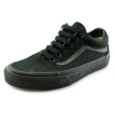 VANS Old Skool D3hbka Womens Mens Trainers Laced Canvas Black Shoes UK 4