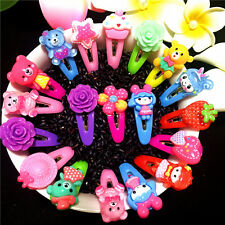 Kids Baby Girls Children Mini Small Flower Claw Clamp Styling Hair Clips  Gift