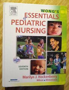 Wong's Essentials of Pediatric Nursing + CD:Hockenberry,Wilson, Wilelstein NEW!