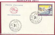 ITALIA FDC CAVALLINO ANNO EUROPEO DELL'AMBIENTE 1987 BORGONOVO BARDONECCHIA Y185