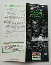 Fotografie Referenzhandbuch für die Fujica ST 801