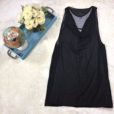 Urban Outfitter Sparkle & Fade Sleeveless Long Tunic Size M