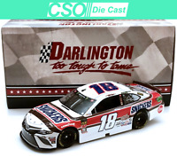 Kyle Busch 2019 Snickers Darlington Throwback 1/24 Die Cast IN STOCK