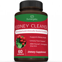 Kidney Cleanse Supplement-Kidney Support Formula With Cranberry - 60 Capsules