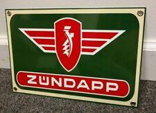 Zundapp Scooter Motorcycle motorcycles sign ...Bella Janus ks750 #2