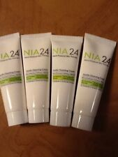 4 x 0.34oz each Samples NIA24 GENTLE CLEANSING CREAM NIA 24 FREE shipping