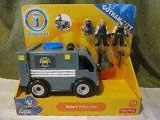 Fisher Price Imaginext DC Super Friends Batman Gotham City Bane Police Van NEW