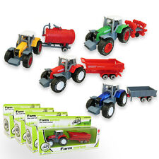 Children's Toys Farm Vehicles Tractor Planting Machine Diecast Model Funny Gift