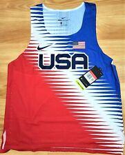 Team USA 2020 Olympics Nike Aeroswift Pro Elite Singlet Size L XL CV0403-657
