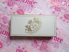 "Juicy Couture Box Gift Storage Jewelry Leather Lined 9.25"" x 4.5"" NWD"
