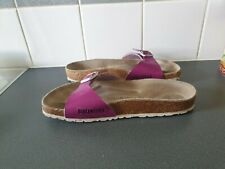 PURPLE MADRID BIRKENSTOCK  SIZE UK 5