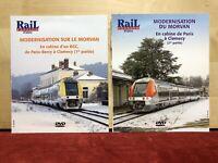 DVD Rail Passion / modernisation du Morvan - 2 DVD parties 1 et 2
