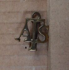 WW2 ATS Collar Badge Genuine badge  b3
