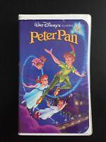Walt Disney's Peter Pan Black Diamond The Classics Clamshell VHS 960