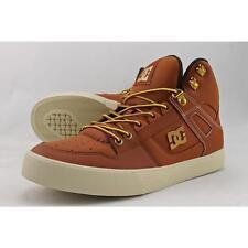 DC Shoes Spartan High WC SE Men US 9.5 Tan Skate Shoe Seconds  14708
