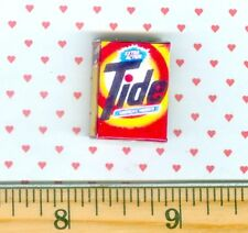 Dollhouse MINIATURE Size Tide Laundry Soap Box