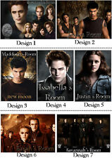 Personalised Twilight New Moon Eclipse Door / Wall sign - w/ Name or Msg - Gift