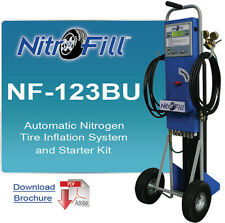 NitroFill NF-123BU Nitrogen Conversion/Inflator w/regulator, 4 hoses and more
