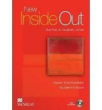 New Inside Out Upper - Intermediate: Student Book with CD-ROM Pack, Good Conditi