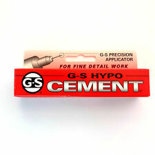 GS Hypo Cement Craft Adesivo di precisione punta dell'ago Autentico USA colla UK Venditore