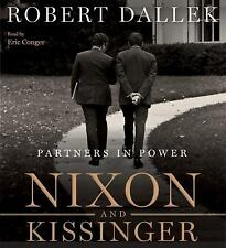Nixon and Kissinger  Partners in Power by Robert Dallek Audio Book Free Shipping
