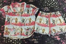 Peter Alexander Size 2-3 Girls Wizard Of Oz Pyjamas PJs