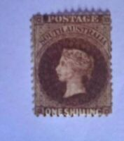 SOUTH AUSTRALIA STAMP SG 149   MH QUEEN VICTORIA  ONE SHILLING