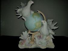 The Mirella Collection -Birds & Globe- Home Decor
