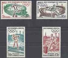 Timbres Sports JO Mali 63/6 * lot 20922
