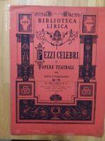 """Spartito """" IL BIRRAIO DI PRESTON"""" Biblioteca Lirica  di L.Ricci RICORDI 1908"""