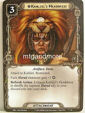 Lord of the Rings LCG - #010 Kahliel's Headdress - The Mumakil