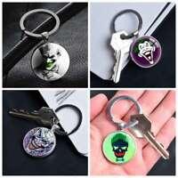 Joker DC Comic Superhero Keychain Keyring Pendants Keychains