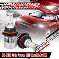 2X COB HB5 9007 1080W 162000LM LED Headlight Conversion Bulb White 6000K For GMC
