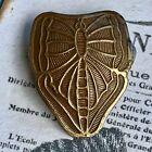 Art Nouveau Butterfly Button Cover