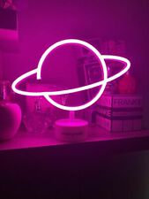 Ariana Grande Neon Pink Desk Lamp Limited Edition Merchandise. Desk Light