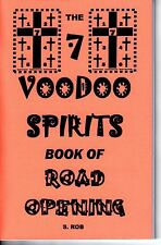 7 VOODOO SPIRITS BOOK OF ROAD OPENING occult magic path clearing door opening