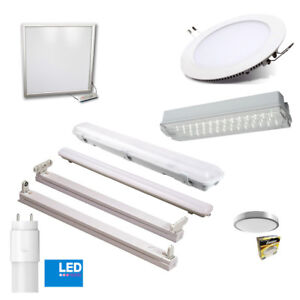 OFFICE LIGHTING LED BATTEN BATHROOM PANELS DOWNLIGHTS T8 WITH LED TUBES