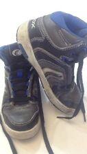 GEOX - scarpe alte - colore nero grigio blu - stringhe bianche - N° 31 - USATE