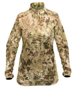 Kryptek Women's Valhalla 2 LS Shirt 1/4 Zip NEW