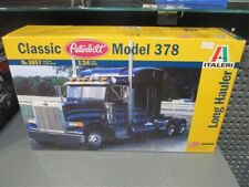 Italeri 1/24 Peterbilt 378 Long Hauler # 3857 Model Kit