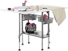 New Sew Ready Studio Designs Folding Multipurpose Hobby and Craft Cutting Table